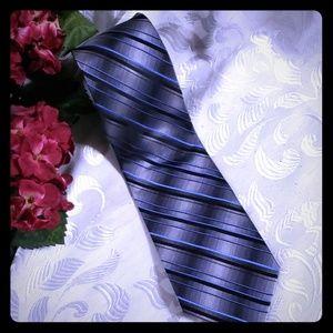 Platinum designs 100% silk handmade plaid neck tie